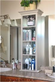bathroom counter ideas bathroom countertop shelves creative storage ideas unorthodox