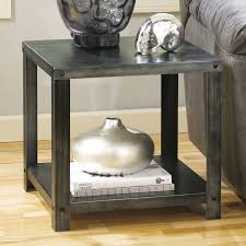 signature design by ashley hattney gray rectangular cocktail table