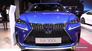 lexus nx300h best price 2015 lexus nx 300h f sport exterior and interior walkaround