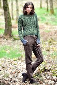 tweed herringbone trousers women u0027s trousers brora style