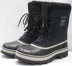 womens size 9 shoe boots sorel caribou womens size 9 black boots uk 8 eu 42 ebay