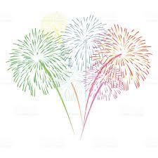 fuochi d artificio clipart fuochi dartificio vettoriale su sfondo bianco immagini