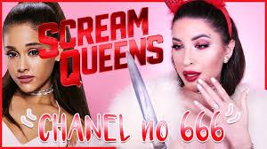 devil halloween make up scream queens ariana grande u0026 red devil inspired halloween makeup
