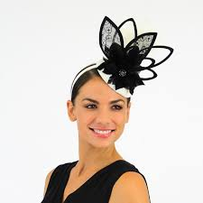 lace fascinator black and white lace fascinator mania shoes