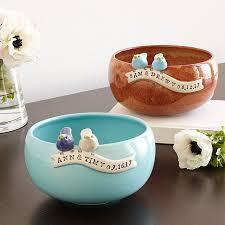 personalized bowl custom wedding bowl personalized bowl uncommongoods