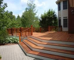 wrap around deck designs beautiful deck with fence trellis wrap