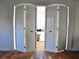folding doors for bathrooms fabric closet door ideas bathroom