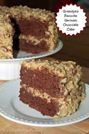 homemade german chocolate cake u0026 frosting recipe german chocolate