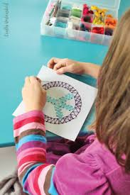 string art idea for kids step by step tutorial consumer crafts