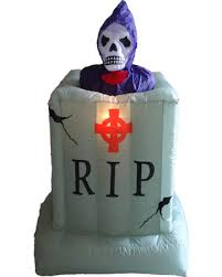 holiday sale animated halloween inflatable ghost from tombstone 6 u0027
