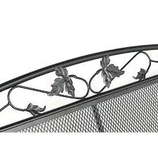 Patio Furniture Wrought Iron by Wrought Iron Patio Glider Bench Belcourt Metal Outdoor Glider