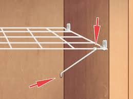 how to add shelves to a closet 7 steps with pictures wikihow