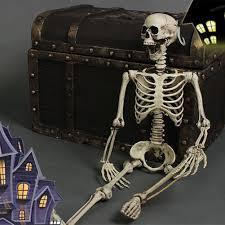 Halloween Skeleton Games by Posable Skeleton Halloween Creepy Prop Scary Man Bone Holiday