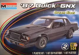 revell monogram 1 24 scale u2013 u002787 buick gnx plastic model kit