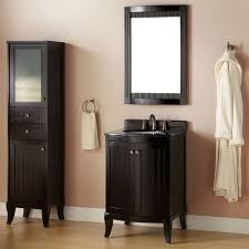 Black Vanity Table Freestanding Small Black Vanity Table In Brown Bathroom Mixed