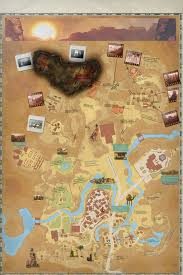 Desert Map Map Scorched Desert Lore Crygaia Wiki