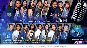 Vote Idol Vote In Nepal Idol From United States Vote In Nepal Idol From U S A