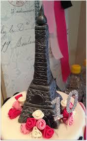 paris party birthday cake