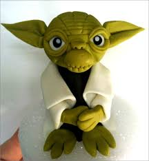 yoda cake topper yoda fondant cake topper ready to ship today business days we