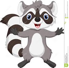 cute cartoon raccoon royalty free stock images image 21545149