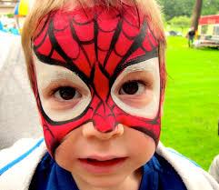halloween makeup spider at spiderman face paint shimosoku biz