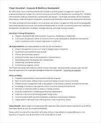 Resume With Salary History Example by Marketing Consultant Job Description Marketing Mba Resume Example