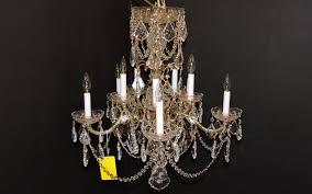 1950s Chandelier Chandelier 1950 U0027s Made In Spain Orleans Antique Lighting