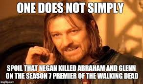 Walking Memes - the walking dead season 7 premiere best meme reactions