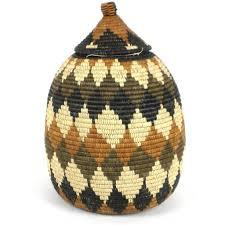 One Of A Kind Home Decor Large Zulu Wedding Basket One Of A Kind Handmade And Fair Trade