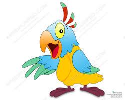 cartoon parrot design psd download premium psd