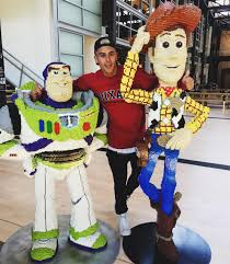 jack gilinsky poses buzz lightyear u0026 woody magazine