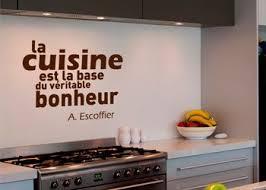 autocollant cuisine autocollant mural de décoration pour les murs de la cuisine une