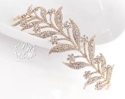 sprã che zum 5 hochzeitstag gold tiara etsy