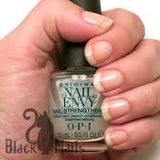 opi nail envy review u0026 progress august 2013 black cat nails