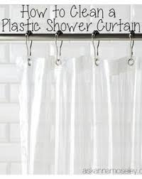 Bathroom Plastic Curtains How Often You Should Clean Your Shower Curtain And The Right Way