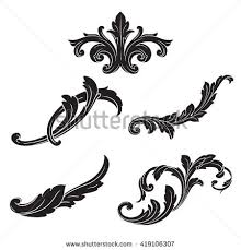 baroque vector stock images royalty free images vectors