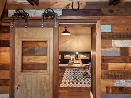 Reclaimed Wood Interior Doors Remarkable Rustic Cabin Interior Doors With Wrought Iron Sliding