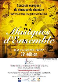 concours musique de chambre concours européen de musique de chambre