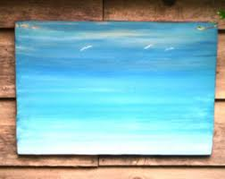 Barn Wood Paintings Sea Wallbeach Wall Artlittle Housesocean Decordriftwood