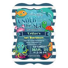 ocean birthday party invitations stephenanuno com