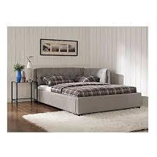 upholstered platform bed full european lounge daybed headboard