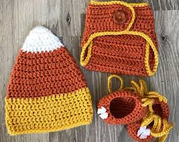 Crochet Baby Halloween Costume Candy Corn Baby Etsy
