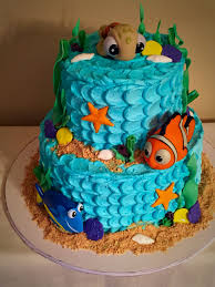 nemo u0027s shark bait and ocean dip frosting and graham cracker