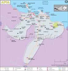 samoa in world map apia map map of apia city samoa
