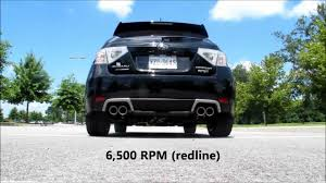 2010 subaru impreza wrx premium spt 2012 wrx hatch stock vs spt exhaust youtube