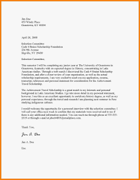 clerkship application cover letter awesome scholarship cover letter example images printable