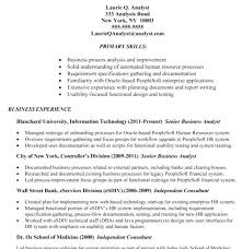 systems analyst resume doc senior business analyst resume doc awesome collection business