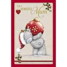 mum christmas card me to you tatty teddy bear christmas cards