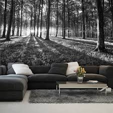 photo wallpaper forest wood trees landscape black white wall photo wallpaper forest wood trees landscape black white wall mural 2229ve