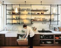 etageres cuisine etagère etagere cuisine design portes coulissantes rangement vaisselle